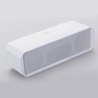 Speaker Miniso dual speakers bluetooth speaker white model no t16