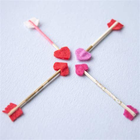 valentines day arrow s day diy mini arrow cards