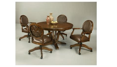 dining room sets with chairs on casters dining room chairs casters 187 dining room decor ideas and showcase design