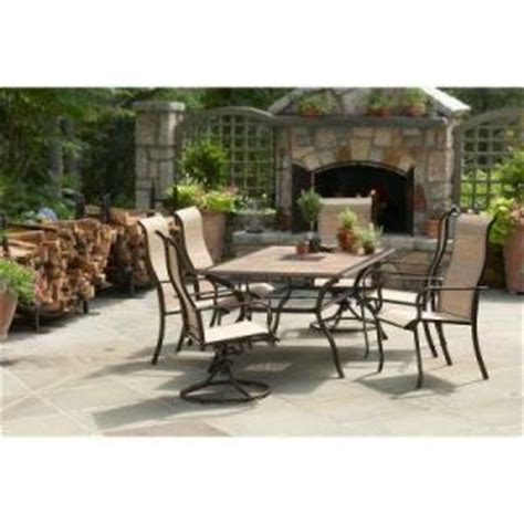 martha stewart patio furniture sets martha stewart living cardona 7 patio dining set