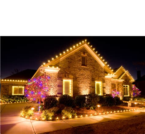 commercial christmas light decor residential decorating