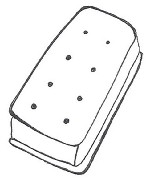 ice cream sandwich coloring page catsts man man man man manly men