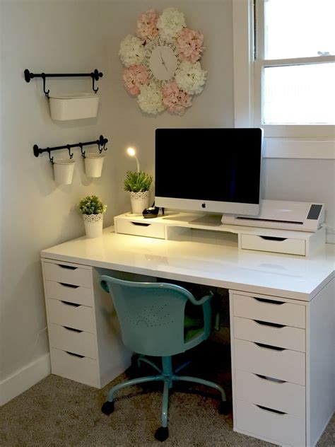 ikea home office desk ideas the 25 best ikea alex desk ideas on desks