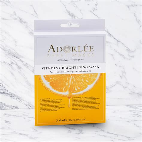 Brightening Mask adorl 201 e vitamin c brightening mask adorl 201 e inc