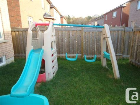 swing set toronto swingset with attachable pool thornhill for sale in
