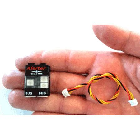 407 Etr Gift Card - etr00617 eagle tree systems alerter buzzer led remote controlled hobby