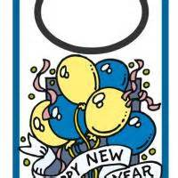 New Year New Hangers by Printable