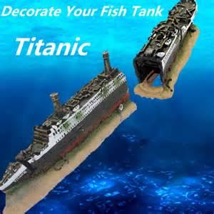 Popular Titanic Fish Tank Decorations Buy Cheap Titanic Fish Tank