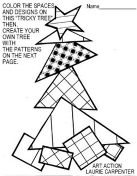 Http Www Teacherspayteachers Com Product Coloring Sheets Triangle Tree Coloring Page