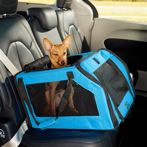car seat pet carrier pet gear signature pet car seat carrier aqua chewy