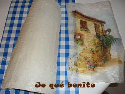 tutorial decoupage en tejas tutorial para decorar teja con papel de arroz aprender