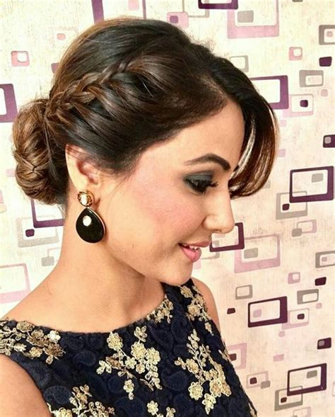 hairstyles for party bun best braid hairstyles for sarees