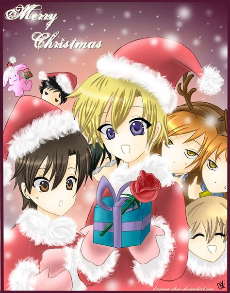 ouran christmas by hostclub on deviantart