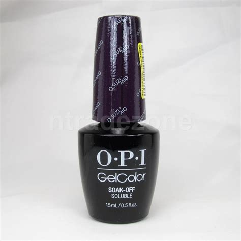 Opi Led Uv L by Opi Gelcolor Soak Uv Led Nail Lacquer 0 5oz Your Shades Part 2 Ebay