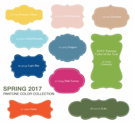 what are the colors for spring 2017 pantone s color report for spring 2017 has some beautiful