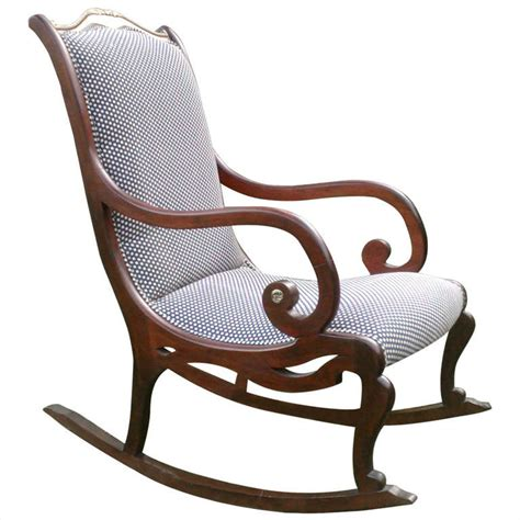 Styles Of Rocking Chairs by Style Rocking Chair At 1stdibs