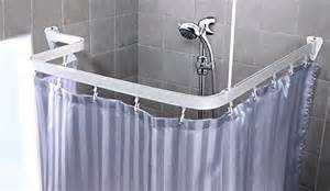bendable shower curtain rod clawfoot bath tub curved l