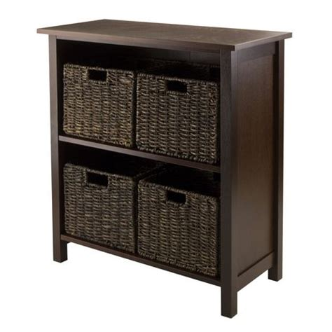 94471 granville 5pc storage shelf with 4 baskets walmart ca