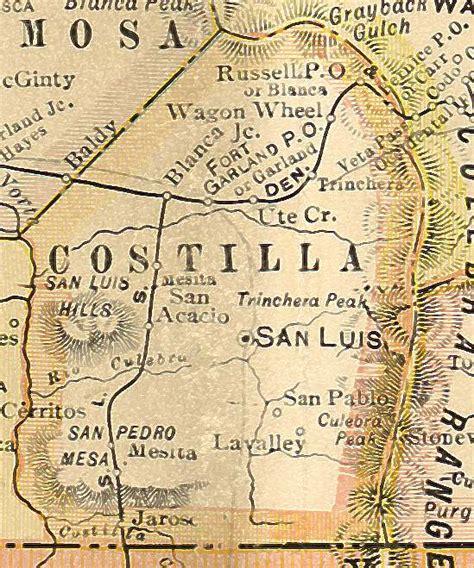 County Colorado Records Costilla County Colorado Genealogy Census Vital Records