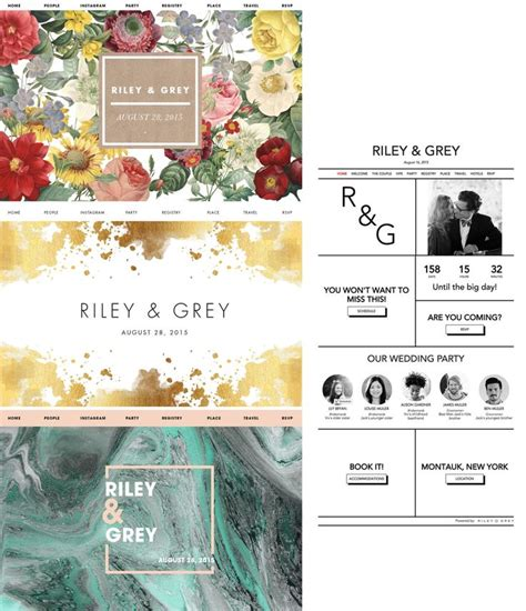 Best Wedding Ideas Websites by 218 Best Wedding Website Design Ideas Templates Images