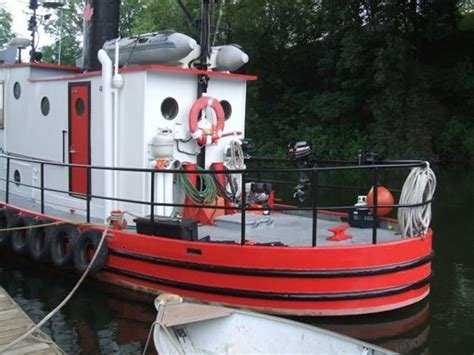 liveaboard tugboat for sale custom built model bow tug liveaboard 1946 used boat for