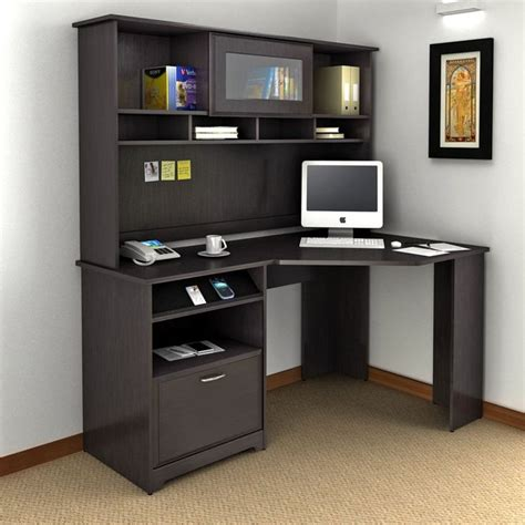 bush cabot corner desk best 25 corner computer desks ideas on white