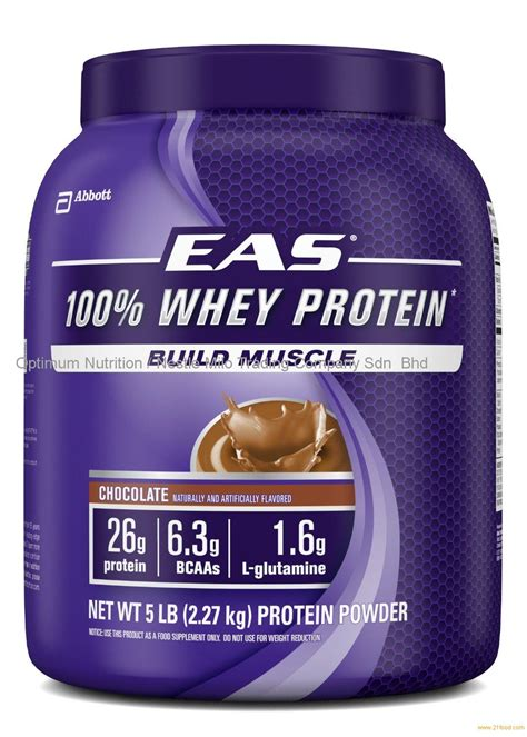 1 protein per pound eas 100 whey protein chocolate 5 pounds products