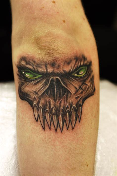 30 unbelievable demon tattoos creativefan