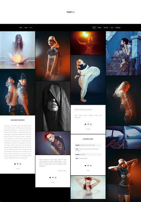 themes for tumblr portfolio 15 classic portfolio tumblr themes