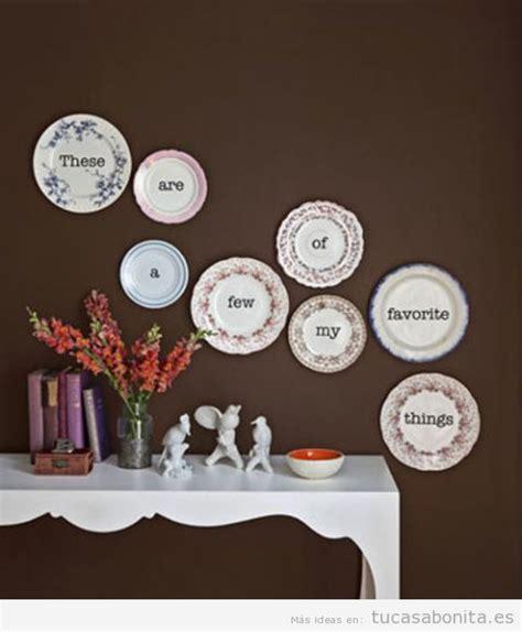 imagenes originales bonitas 5 manualidades originales para decorar las paredes de tu