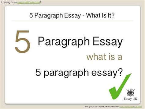 5 Paragraph Essay Powerpoint by 5 Paragraph Essay What Is It Authorstream
