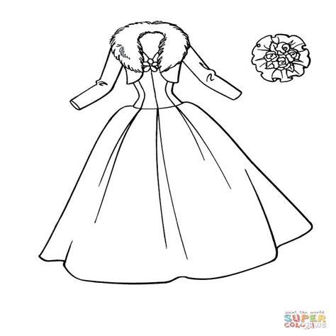 imagenes de vestidos faciles para dibujar dibujos de vestidos para colorear e imprimir