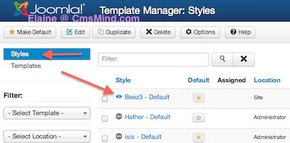 template joomla default joomla 3 0 tutorial how to change site logo and site name
