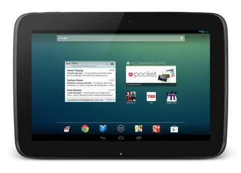Tablet Nexus 10 Inch Lanceert Nieuwe Nexus 10 Tablet Technieuws