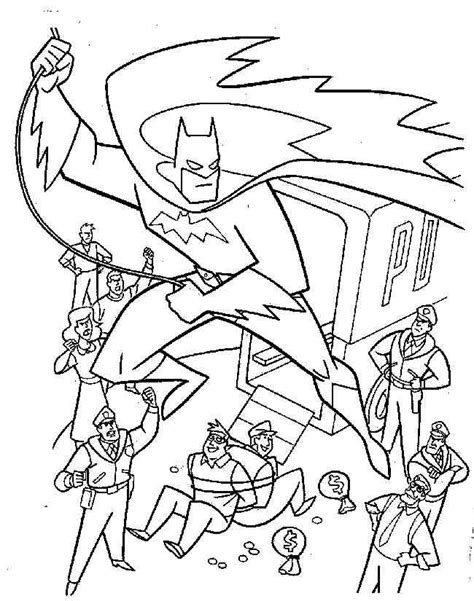 superhero christmas coloring page batman 11 malvorlagen