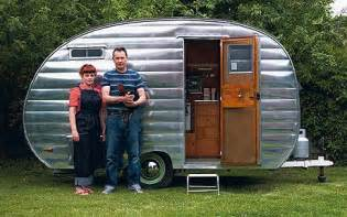 Retro Teardrop Camper For Sale by Caravan Holidays Pulling Power Telegraph