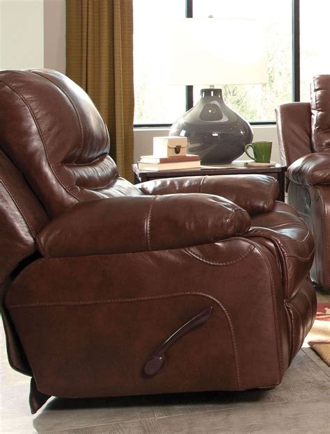 flat reclining chair patton walnut power lay flat recliner from catnapper