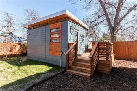 tiny house austin modern and minimalist kanga tiny house in austin tx