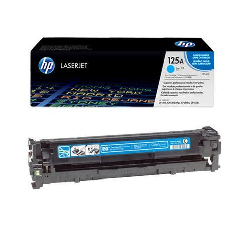 Toner Hp 125a Cb541a Cyan hp 125a cyan laser toner cartridge cb541a