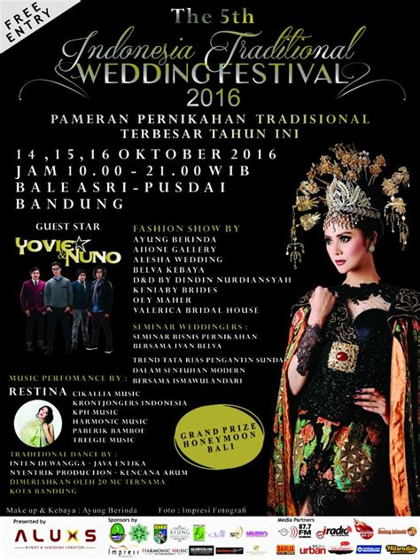 Wedding Expo Bandung 2016 by Indonesia Traditional Wedding Festival 2016 Infobdg