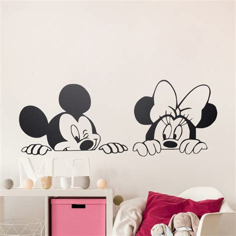Home Decoration Wall Stickers by Dessin Anim 233 De Mickey Minnie Souris Mignon Animal Vinyle