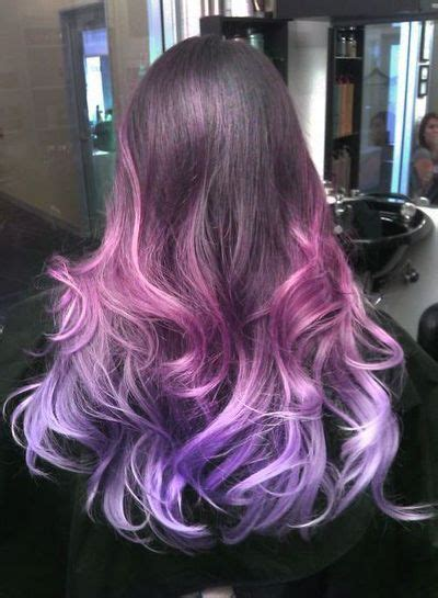 21 ombre hair colors you ll want immediately pink purple ombre hair hair makeup nails pinterest