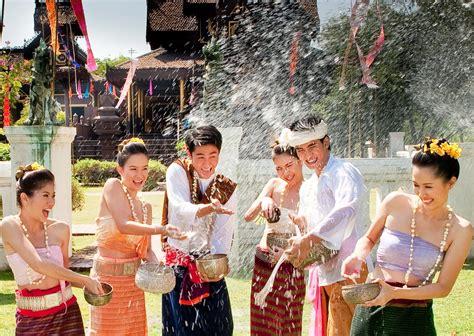 new year thailand songkran thai new year water festival thailandholiday