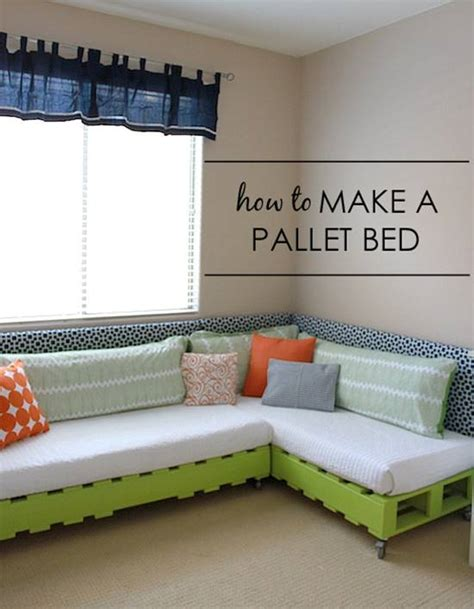 how to make a day bed 50 wonderful pallet furniture ideas and tutorials