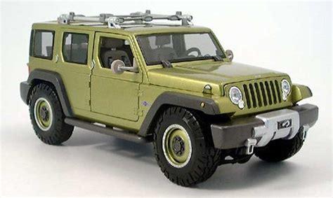 Jeep Rescue Jeep Rescue Concept Green 2005 Maisto Diecast Model Car 1