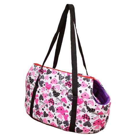 small bag carrier pink printed carriers for small dogs carrier bag fashion pet carrier bag for