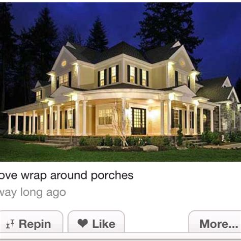 always wanted a wrap around porch up at the cabin 7 best custom homes images on pinterest custom homes