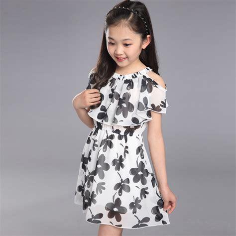 ᗕbig dress summer 2017 169 new new children s clothing flower dress dress chiffon