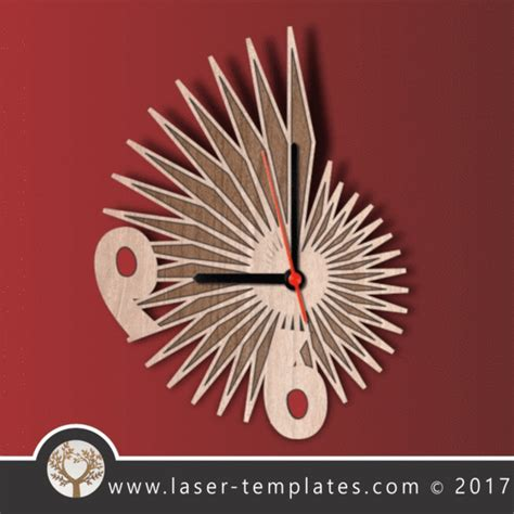 Laser Cut Pattern Templates Download Vector Designs Free Patterns Tagged Quot Clocks Quot Laser Laser Ready Templates
