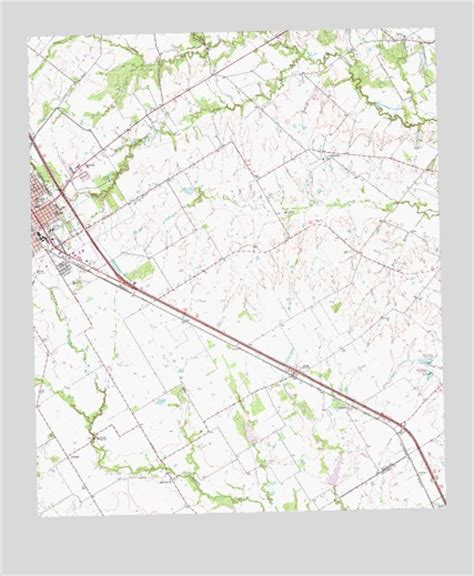 ennis texas map ennis east tx topographic map topoquest